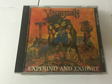 Viogression  TOMBSTONE LABEL Expound and Exhort (1991) CD 5020640315253