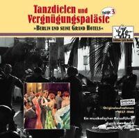 TANZDIELEN & VERGNÜGUNGSPALÄSTE VOL.3 - MAREK WEBER UND SEIN ORCHESTER- CD NEW+