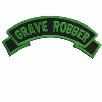 Kreepsville 666 Grave Robber Halloween Punk Embroidered Iron On Patch PAGGR