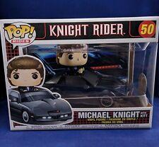 MICHAEL KNIGHT Kitt 50 Funko Pop Knight Rider David Hasselhoff Rides Car K2000