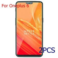 2pc Genuine Real Tempered Glass Film Screen Protector Anti-Scratch For Oneplus 6