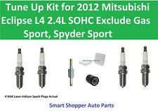 Air Filter, Oil Filter PCV Spark Plug To Tune Up For 2012 Mitsubishi Eclipse L4