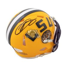 Odell Beckham Jr Autographed LSU Tigers Mini Football Helmet - JSA COA