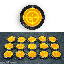 Gun Sight, Target Tokens  for board games and RPGs, set #2