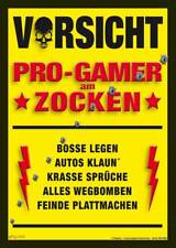 Progamer am Zocken - Mikrofasertuch reinigt iphone Displays - Grösse 15x21 cm