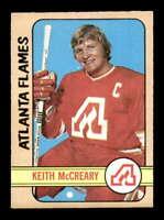 1972 O-Pee-Chee #25 Keith McCreary  NM/NM+ X1430107