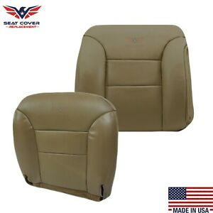 1995 1996 1997 1998 1999 Chevy Tahoe Suburban Synthetic Leather Seat Covers Tan