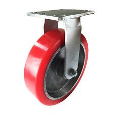 """8"""" x 2"""" Aluminum wheel Casters -  Rigid"""
