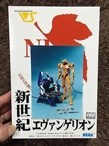 Evangelion EVA-00 RESIN MODEL KIT SEGA / VOLKS JAPAN