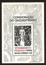 BRAZIL stamp 1972 5th Anniv Modern Art Week Scott# 1222 RHM B-31