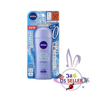 NEW NIVEA SUN Zero Feeling UV lotion 100ml SUNSCREEN SPF50+ PA++++ - US Seller