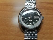 Vintage Citizen Automatic Watch, runs perfectly all stainless steel keeps time
