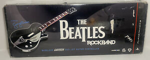 Rock Band Beatles Gretsch Guitar Box Only PS3 RARE MINT! Only The Box!!!
