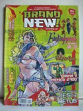 Brand new! I nuovi eroi del fumetto italiano nr 1 - Freebooks 2005