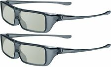 (Pack of 2) New Official Panasonic Viera Polarized 3D Glasses Eyewear TY-EP3D20U