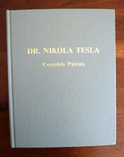 Dr Nikola Tesla, Complete Patents Drawings John Ratzlaff 1983 Rare NEW MINT USA