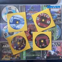 Lot Of PlayStation 1 Games PS1 Acceptable Condition Tested Working Scratched