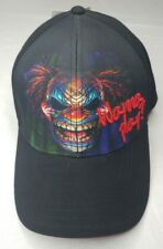 NWT Embroidered Wanna Play Scary Killer Creepy Clown Graphics Hat Cap Adjustable