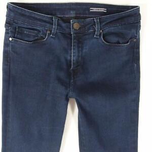 Womens Tommy Hilfiger COMO RW Stretch Skinny Blue Jeans W29 L30 Size 10