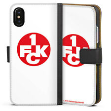 Apple iPhone x bolso funda flip case - 1.fck blanco