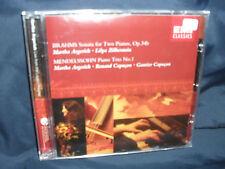 Brahms-Sonata for Two pianoforti/Mendelssohn-Piano Trio-agerich