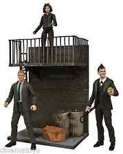 Gotham Tv Select Action Figures Selina Catwoman Jim Gordon Penguin Cobbelpot