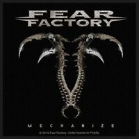 Fear Factory Mechanize Patch Official New