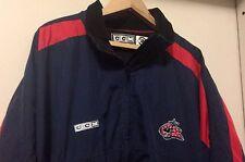 Columbus Blue Jackets Men's Jacket CCM XL Zippered NHL