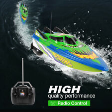 Rc boat Toy Gifts Brushed motor Remote Controller Electric Boat For Child V9R1