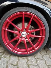 Motec Radical 8.5X19 5X112 ET30 Candy Red