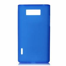 Estuche Carcasa plástico azul funda  protector para LG Optimus L7 P700/P705