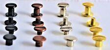 Schraubnieten Buchnieten 5mm aus Metall in verschiedenen Farben