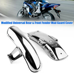 Motorcycle Rear&Front Fender Splash Proof Mudguard Cover Fit for CG125 Universal