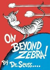On beyond Zebra! by Dr Suess (Hardback, 1955)