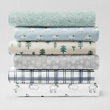 Brielle Home® 100% Cotton Flannel Sheet Set