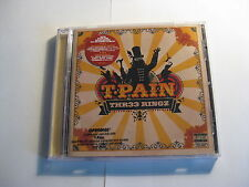 T Pain - Thr33 Ringz CD ft Chris Brown, Kanye West, Akon, Ludacris, Mary J Blige