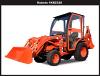 Complete Curtis Soft Side Deluxe Cab Kubota B2320 B2620 B2920 1KB2320