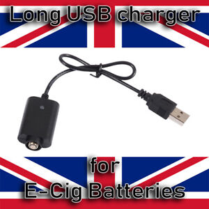 USB CHARGER  23CM long for CE4  EGO EVOD E CIG PEN VAPE SHISHA BATTERIES
