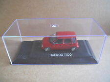 DAEWOO TICO Legendary Cars 1:43 Die Cast in Box in Plexiglass [MV10]