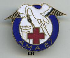Insigne santé , Ambulance Médicale d'Armée 87