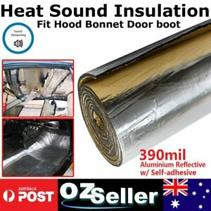 1.27M x 1M Roll Sound Thermals Insulation Auto Van Road Wind Noise Control Foam