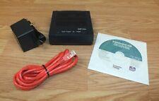 Cisco EQ-660R DSL Series Modem (ADSL 660) W/ AC Adapter, CD, & Cat 5