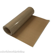 """39"""" x 5 (100 x 457cm) Yard Teflon Fabric Roll for Sublimation Print -5Mil Thick"""