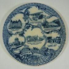 Antique HUDSON-FULTON TERCENTENARY New York Souvenir Plate Geo Bowman NY