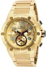 Invicta Speedway 19529 Men's Analog Chronograph Date Gold Tone Exhibition Back