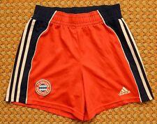 1999 - 2001 FC Bayern Munich, Vintage Home Shorts by Adidas, Boys XL, Adult S