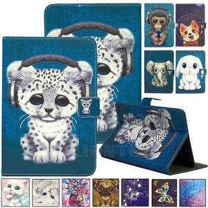 """Universal Pattern Case Folio Leather Cover Stand For Android Tablet PC 10"""" 10.1"""""""