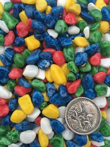 4.9 Kg Mixed Colour Aquarium Gravel - OZ seller