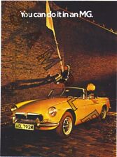 POSTER-MGB ROADSTER 1974