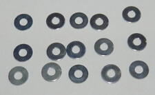 Tamiya 2mm Washers (x15) NEW 9805758 TB01 TT01 DT02 TNS F103 Lunchbox Hotshot